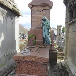 Tombe des familles Ewald et Gautier – Cimetière du Père Lachaise – Paris (75020)