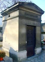 Mobilier funéraire – Cimetière de Charonne –  Paris (75020)