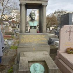 Tombe de la famille J. A. Durighello  – Cimetière du Père Lachaise – Paris (75020)