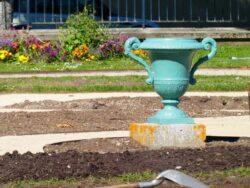 Vases du jardin François Mitterrand (8) – Evreux