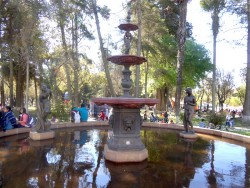 Fuente de la Musas – Parque Simon Bolívar- Sucre