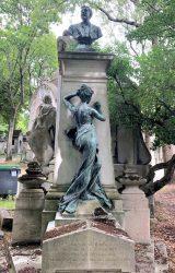 Monument à Auguste Burdeau – Cimetière du Père Lachaise – Paris (75020)