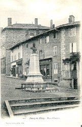 Monument à Claudius Chervin Aîné – Bourg-de-Thizy