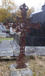 Croix funéraire – Cimetière – Pocé-sur-Cisse