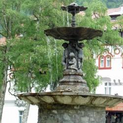 Fontaine – Parcul  Dimitrie Ghica – Sinaia