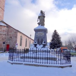 Monument aux morts de la guerre de 1914-1918 (France Victorieuse) – Granges-sur-Vologne