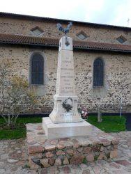 Coq du monument aux morts – Les Moulins-Cherier