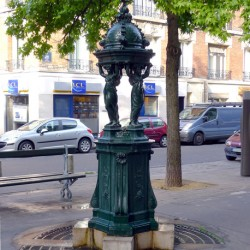 Fontaine Wallace – Place Charles-Vallin – Paris (75015)