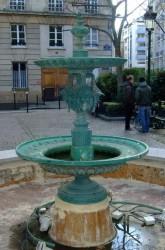 Fontaine – place de l'Estrapade – Paris (75005)