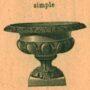 Ornements, croix et corbeilles - Division 51 - Cimetière du Père Lachaise - Paris (75020) - Image6