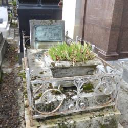 Tombe d'Antoine Véry – Cimetière du Père Lachaise – Paris (75020)