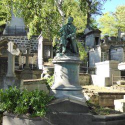 Sépulture d'Edmond About – Cimetière du Père-Lachaise – Paris (75020)