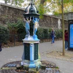 Fontaine Wallace –  Bd de Ménimontant – Paris (75020)
