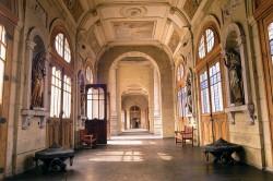 Hall de ingreso – Hall d'entrée – Cementerio general – Santiago de Chile