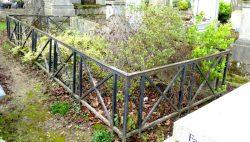 Entourages de tombes – Division 43 – Cimetière du Père-Lachaise – Paris (75020)
