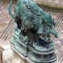 Chiens, loups et sanglier (4) – Cour Lefuel – Palais du Louvre – Paris