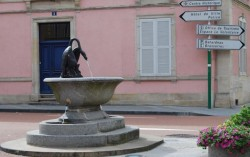 Fontaine au cygne – Remiremont