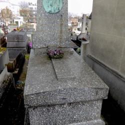 Tombe de la famille Jalliffier – Cimetière du Père Lachaise – Paris (75020)