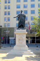 Statue de Diego Portales – Santiago de Chile