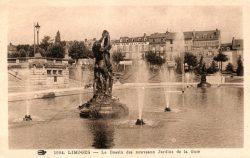 Groupes de NaÏades (Fondus) – Bassin du Champ de Juillet – Limoges