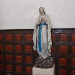 Vierge de Lourdes – Eglise – Brousseval