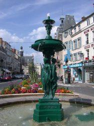 Fontaine des Trois Grâces – Fontainebleau