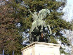 Statue équestre du général San Martin – Parc Montsouris – Paris (75014)