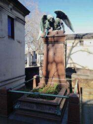 Ange de la sépulture de Fabi – Cimetière de Montparnasse – Paris (75014)
