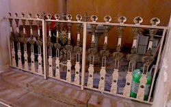 Grille de clôture de fonts baptismaux – Gonfaron