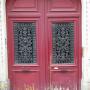 Balcons et porte - Rue de la Goutte-d'Or - Paris (75018) - Image2