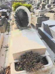 Tombe des familles Brunot et Hirsch – Cimetière du Père-Lachaise – Paris (75020)