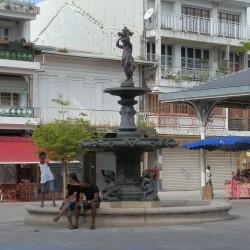 Fontaine Couturier – Place du Marché – Pointe-à-Pitre – Guadeloupe