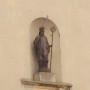 Statue de Saint Germain - Façade de l'église Saint-Germain-l'Auxerrois - Fontenay-sous-Bois - Image2