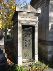 Portes de chapelles sépulcrales (1) – Division 27 – Cimetière du Père Lachaise – Paris (75020)