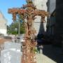 Croix monumentale et fonte funéraire - Cimetière - Ypreville-Biville - Image4