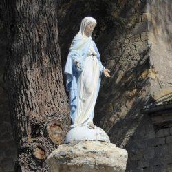 Vierge et croix – Barran