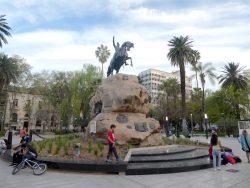 Monument au Général San Martin – Plaza San Martin – Mendoza