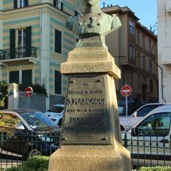 Buste Sylvestre Marcaggi à Ajaccio