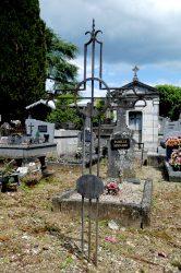 Croix en fer forgé (24) – Cimetière de la ville – Cahors