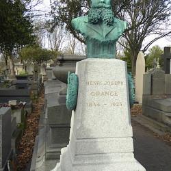 Tombe Henri Grange – Cimetière du Père Lachaise – Paris (75020)