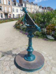 Horloge solaire Bollée – Jardin des plantes – Le Mans