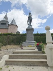 Poilu – Monument aux morts – Froidestrées