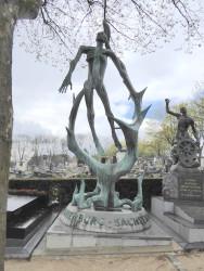 Monument d'Oranienburg-Sachsenhausen – Cimetière du Père Lachaise – Paris (75020)