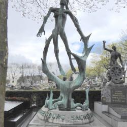 Monument d' Oranienburg-Sachsenhausen – Cimetière du Père Lachaise – Paris (75020)