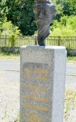 Buste de Paul Bodin – Viaduc du Viaur