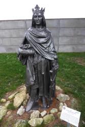 Statue  de Saint-Louis  – Saint-Georges-sur-Cher