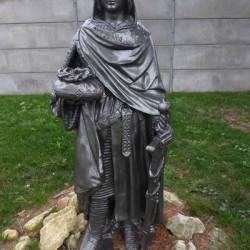 statue st Louis St Georges-sur-Cher