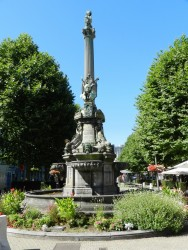 Monument-Fontaine à Pierre David – Verviers