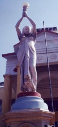 Torchère Egyptienne – Pondichéry