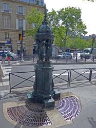 Fontaine Wallace – Avenue de Villers – Paris (75017)